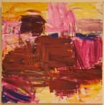 Abstrakt I - akryl - 1997-028