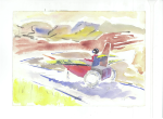 Alternative wheelchair I, akvarell, 2003