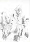 Anak-anak (ungar) II, Jogjakarta, Java, blyant I, 2003