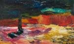 Bauta over menneskeslekta (Memory over mankind), olje_100x60cm, 2009