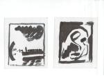 BUDAYA II (Kultur), blekk på kartong, 2005