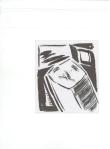 HARDWOOD, blekk på kartong, 2005