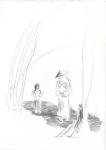 Indonesisk IV, blyant, 2003