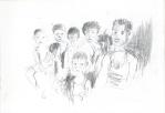 Indonesisk VII, blyant, 2003
