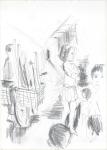 Indonesisk VIII, blyant, 2003