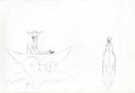 Kapal kecil Korsi roda (rullestol-båt), Jogjakarta, penn, 2001