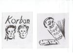 KORBAN (Offer), blekk på kartong, 2005