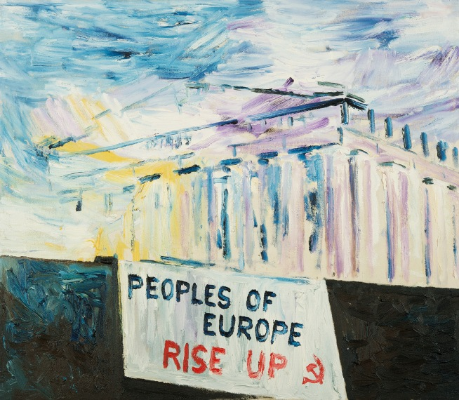 Peoples of Europe, olje_75x65cm, 2011