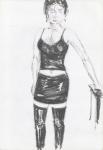Perempuan dari Jogja (jente frå Jogja) I, Jogjakarta, penn, 2001