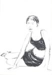 Perempuan dari Jogja (jente frå Jogja) IV, Jogjakarta, penn, 2001