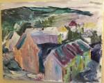 Pinnelien-Kronstad (Bergen) - olje - 1992-IMG_0007