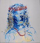 Portrett i akryl, 2011