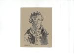 Portrett IV, blekk på kartong, 2012