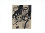 Portrett VI, blekk på kartong, 2012