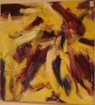 Rørsle I - akryl - 1996-026