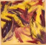 Rørsle II - akryl - 1996-025