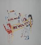 Revolusi II, akryl, 2011