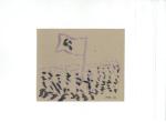 Revolusjonært landskap I, blekk på kartong, 2012