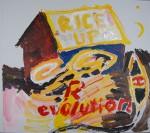 RICE UP!, akryl, 2012