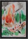 Sampit, Kalimantan II, akvarell, 1998