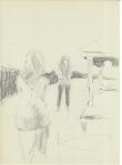 Samtale, blyant, 1999