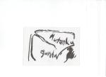 Snauhogst I, blekk på kartong, 2005