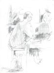 Undring, blyant, 1999