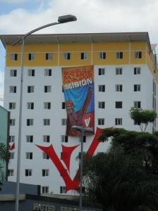 Ferdigbygt bustadblokk i Gran Mision Vivienda-programmet