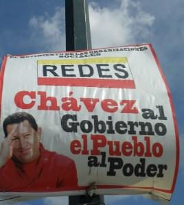 Plakattekst - Chavez i folkemakt-regjeringa