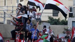 Egypt -Mursi-tilhengjarar protesterar, juli 2013