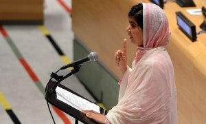 Malala Yousafzai-i FN, 12. juli 2013