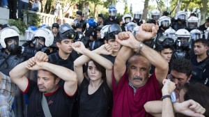 Turkish protest, Gezi-parken, July 2013