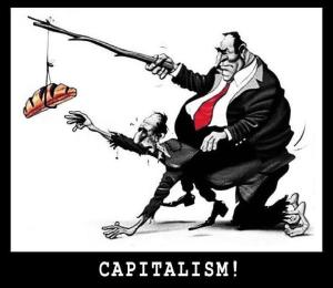 capitalism-bread-on-a-stick-is-being-used-by-a-fat-businessman-riding-on-the-back-of-a-poor-skinny-man