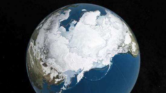 VARMERE GAIA, Arktis - foto NASA