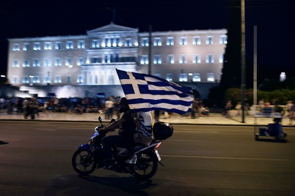 Greece-Syntagma Square, 5. July 2015-4928