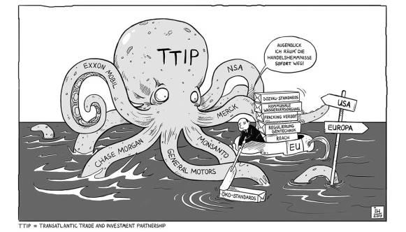 TTIP monster - I.H. 2013