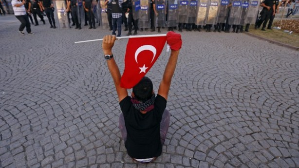 Turkish protest, June 2013