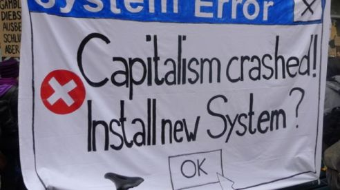 Capitalism crashed! Install new System