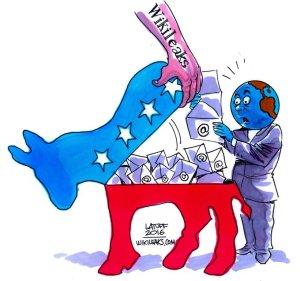 Wikileaks-reveal, Latuff2016