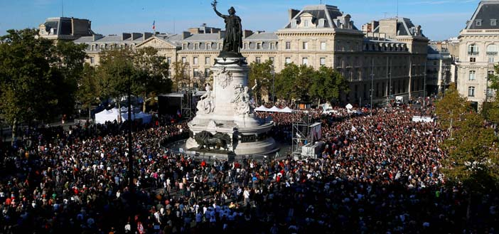 France experience mass protests against neoliberal reforms ...